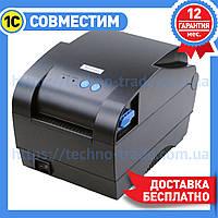 Термопринтер этикеток Xprinter XP-365B, фото 1