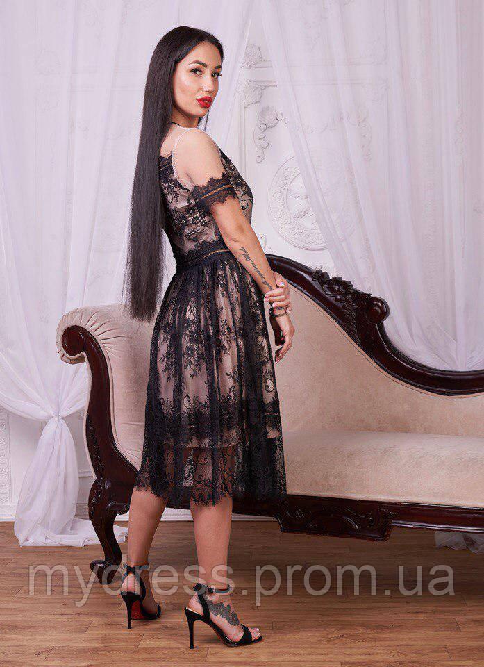 Платье из кружевам 733