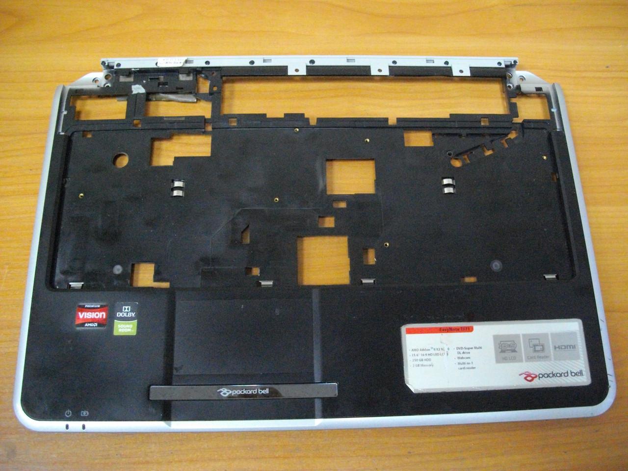 Корпус Верхняя часть корпуса с тачпадом Packard bell MS2285 TJ71