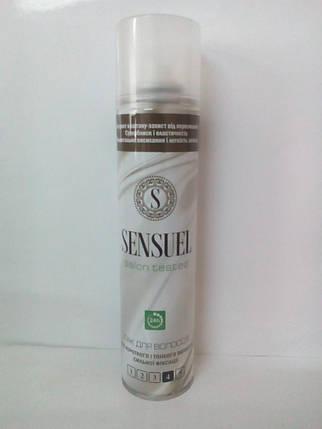 Лак для волос 4 (сильная фиксация) Sensuel 250мл (0481) , фото 2