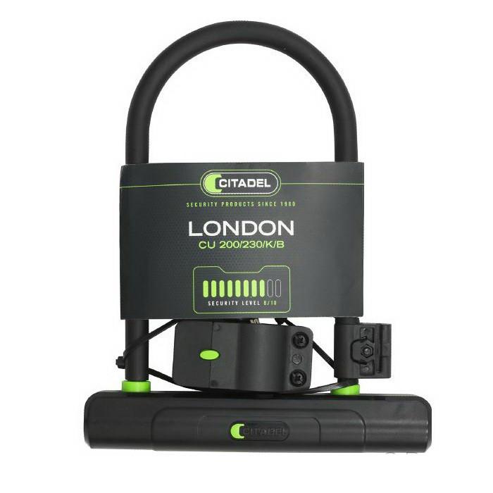 U-образный замок CITADEL CU 200/230/K/B London