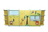 Шкаф детский ЗВЕРЮШКИ № 8 открытый с ящиком на 5 отделений, фото 3