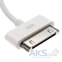 Зарядное Apple Mini Charger 1000mAh +  Dock USB кабель для iPhone 4