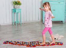 Массажный коврик-массажер с цветными камнями «Орел» 148х50 см, фото 3