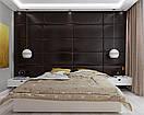 Мягкие стеновые панели 3D ромбы, квадраты и полосы, фото 5
