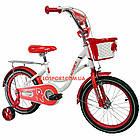 Детский велосипед Crosser JK 703 16 дюймов красный, фото 2