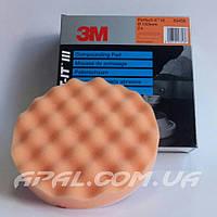 50456 Оранжевый рельефный многоразовый полировальный круг 3M Perfect-It, 133 мм
