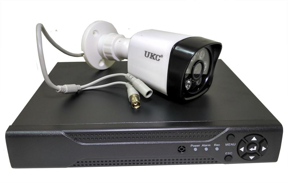 Набор DVR регистратор 4 канальный и 4 камеры DVR CAD D001 KIT SUPER NEW