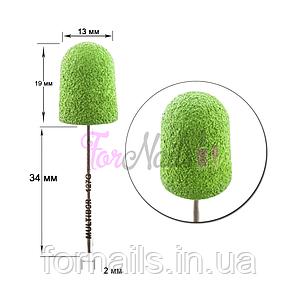 Композитная насадка, колпачок зеленый 12,7 мм