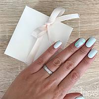 Кольцо с россыпью камней