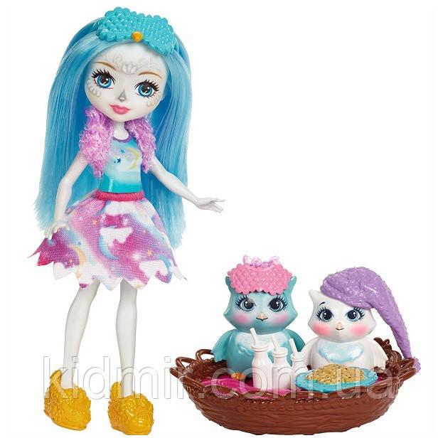 Набір Enchantimals Ночівля з совою і лялька Охана Сова Mattel FCG78