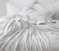 BEYAZ, белое однотонное постельное белье (ранфорс премиум)