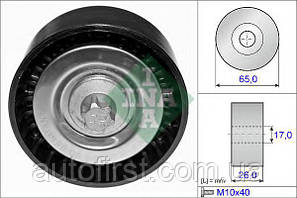 INA Ролик ремня генератора MB Sprinter (906) Vito-639 OM651 (гладкий) 26x65