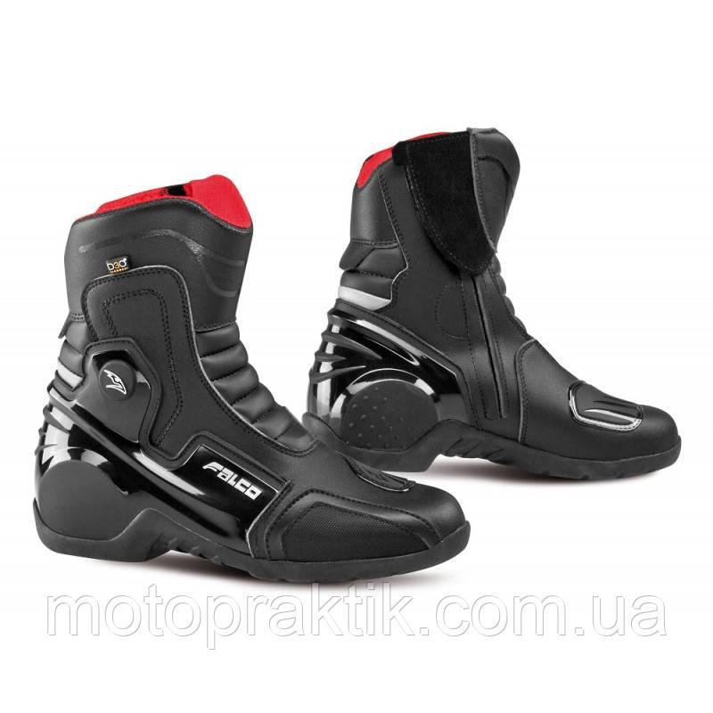 Falco AXIS 2.1 Boots, Black, 41, Мотоботи туристичні
