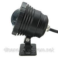 Светильник подводный для бассейна и фонтана WG-11 LED 10W 12V RGB пульт IP68 черный, фото 3