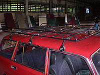 Багажник на крышу ВАЗ 2104, ВАЗ 2102, ВАЗ 2131,(на четверку) (на двойку) (на ниву)  (цельная), фото 1