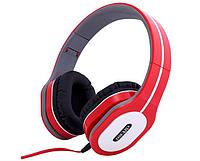 Наушники Ditmo DM-2560 съемный кабель, красные