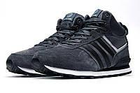 Кроссовки мужские Adidas Fastr TEX, серые (3180-3),  [   45  ]