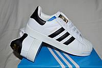 Мужские кроссовки кеды Adidas Superstar размер 41, 43