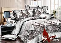 Комплект постельного белья S049 Евро maxi (TAG satin-049/еmax)