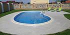 """Стационарный стекловолоконный усиленный бассейн """"Атлант"""" 8,0х3,5 глубиной от 1,2 до 1,6м., фото 6"""