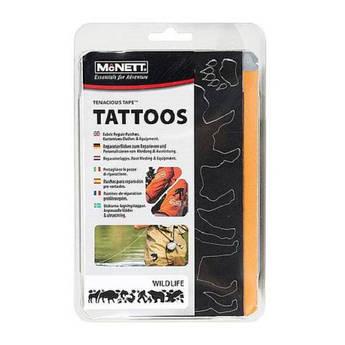Латки фигурные Mc Nett Tenacious Tape Tattos Wildlife