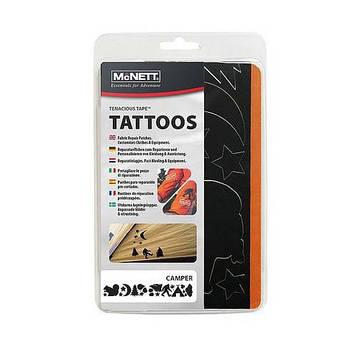 Латки фігурні Mc Nett Tenacious Tape Tattos Camper