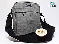 Мужская спортивная сумка мессенджер-планшетка-барсетка UNDER ARMOUR реплика люкс качества