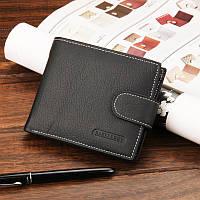 Кожаный кошелек Baellerry Stalion ( black ), фото 1