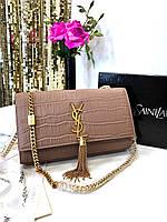 Очаровательная женская сумочка SAINT LAURENT (реплика), фото 1