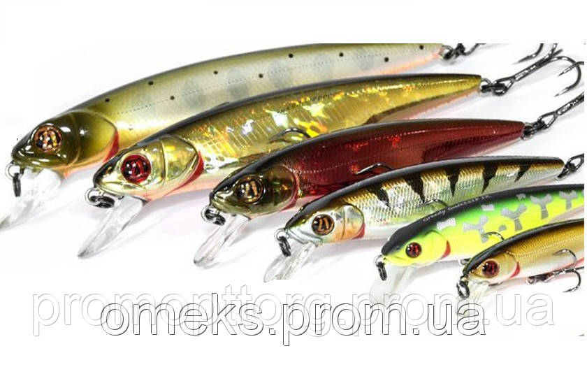 Приманка, воблер Pontoon 21 Greedy Guts 88SP-SR 88mm 11.7g 0.8-1.2m / RIB