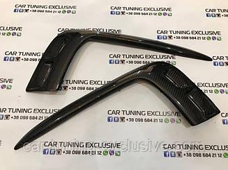 Front splitter carbon for Bentley Bentayga