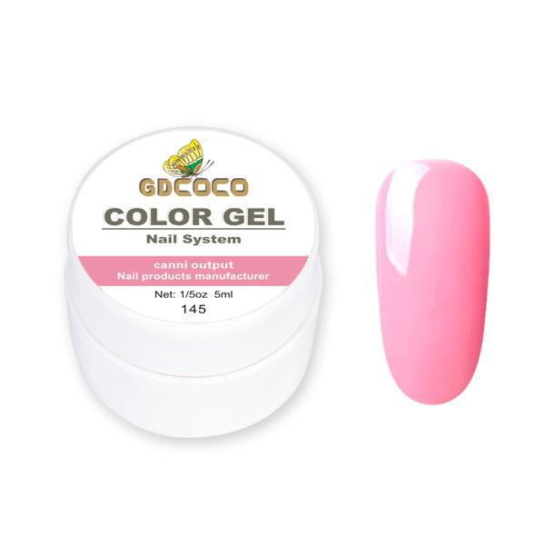 Гель-краска GDСосо Color Gel 145 Розовый 5 ml