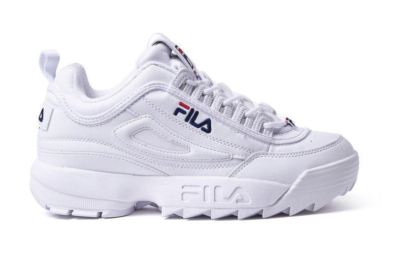 Кроссовки Fila Disruptor II White Белые