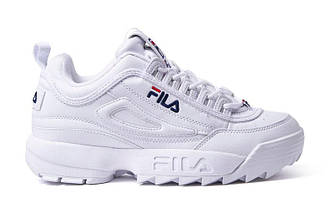 Кроссовки женские Fila Disruptor II White Белые
