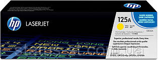 Заправка картриджа HP 125A yellow CB542A для принтера LJ CM1312, CM1312nfi, CP1210, CP1215, CP1510