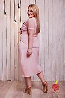 Двойка:летнее платье и накидка женская норма ЯС636, фото 1