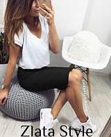 Женская миди юбка, прямая юбка классическая. Размеры норма, разные цвета., фото 1