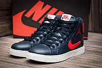 Кроссовки женские Nike Air Jordan, темно-синий (1067-3),  [  38 (последняя пара)  ]