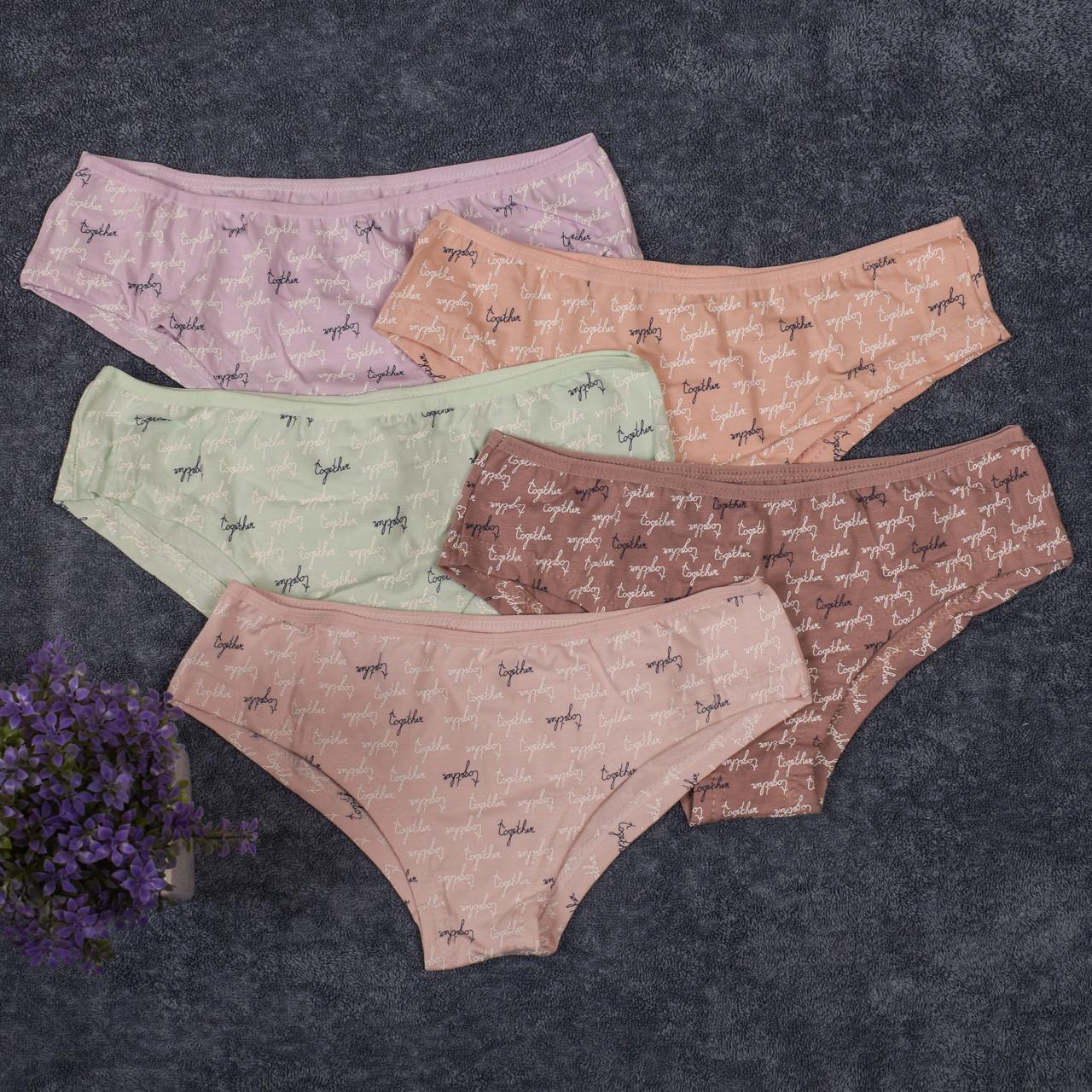 Женское нижнее белье. Donella 39475 L. Размер 46-48. В упаковке 5 шт.