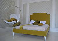 Яркая, жизнерадостная и сочная кровать Сапфир