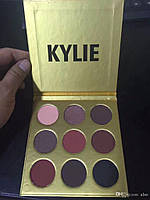 Тени Kylie Cosmetics Kyshadow The Burgundy Palette (gold)