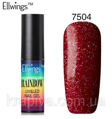 Гель лак Ellwings 7504