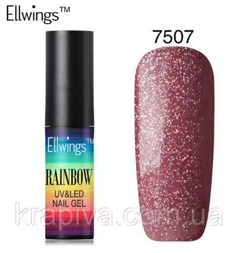 Гель лак Ellwings 7507