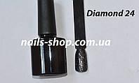 Диамантовый гель-лак Diamond №24