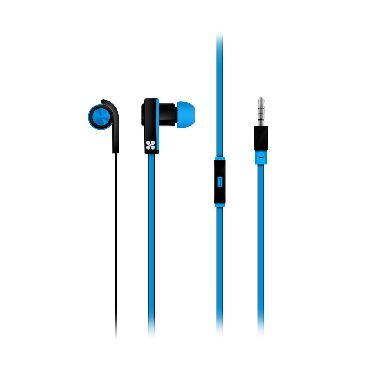 Наушники с микрофоном Promate Brazen Blue
