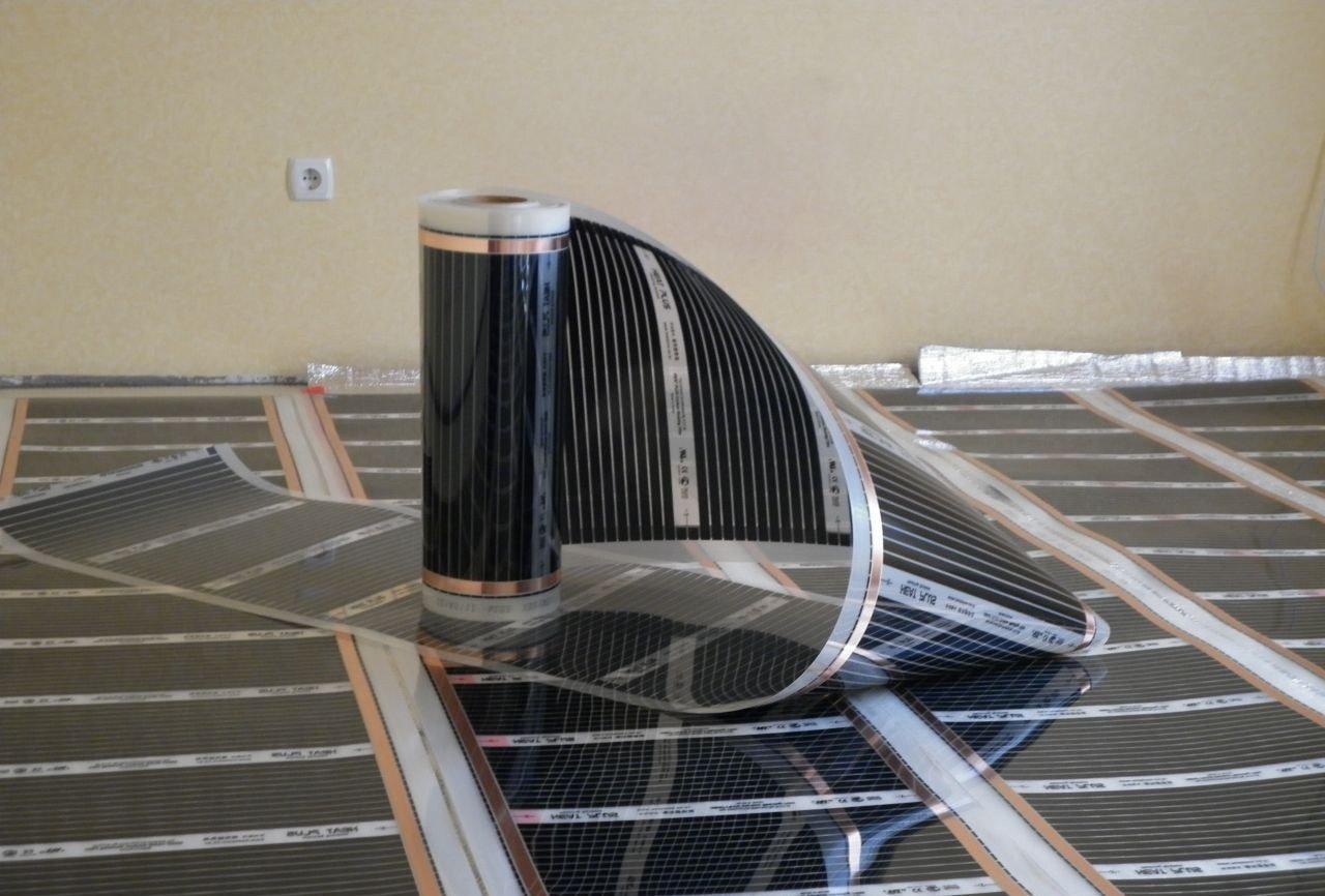 Инфракрасная пленка SPN Heat Plus Standart 310-120 (120Вт/м2, 1м, 28-35°С)