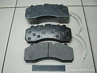 Колодка торм. диск. (компл. на ось) BPW, DAF XF95, IVECO, MB ACTROS, SAF, SCANIA (QSP)