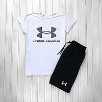 Спортивный комплект Under Armour (Футболка+шорты) Топ реплика Качество А+, фото 1