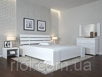 Ліжко дерев'яне Доміно з підйомним механізмом двоспальне